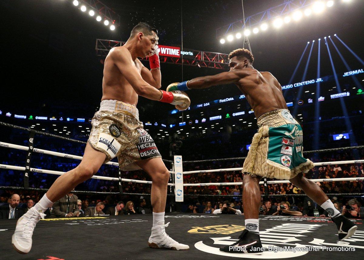Hugo Centeno Jr Jermall Charlo Boxing News Boxing Results Top Stories Boxing