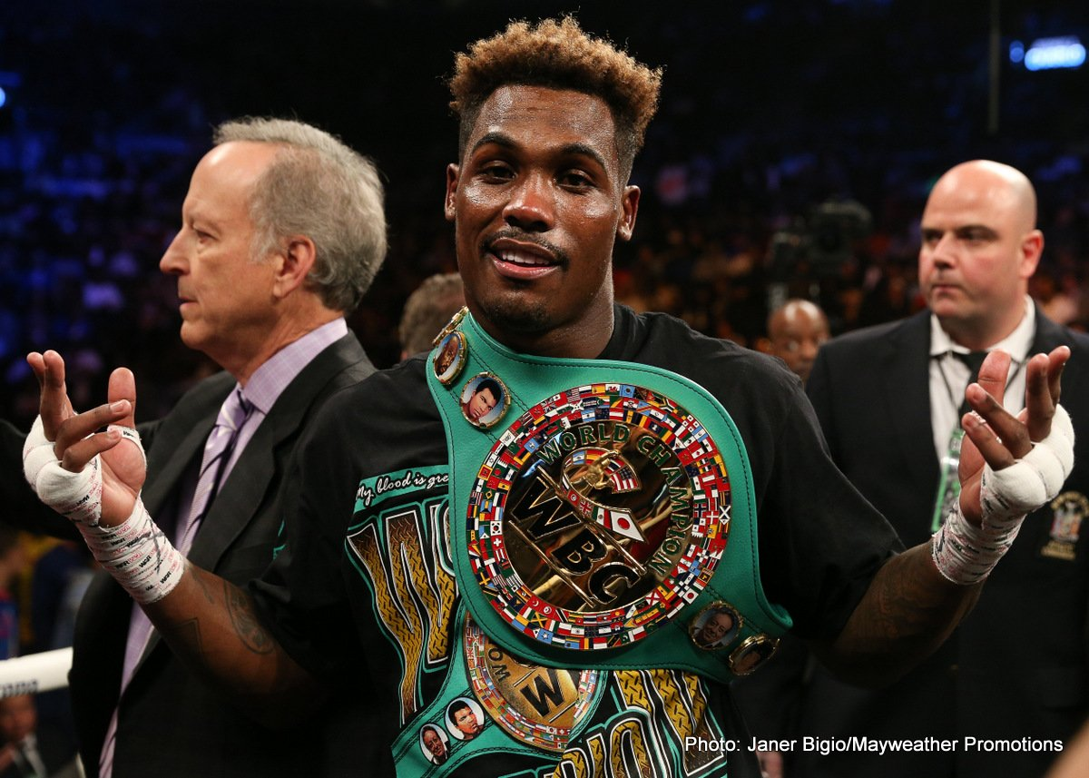 Hugo Centeno Jr, Jermall Charlo - Former 154-pound champion Jermall Charlo sent a statement to the middleweight division in the co-main event, knocking out previously once-beaten contender Hugo Centeno Jr. to capture the interim WBC 160-pound title.