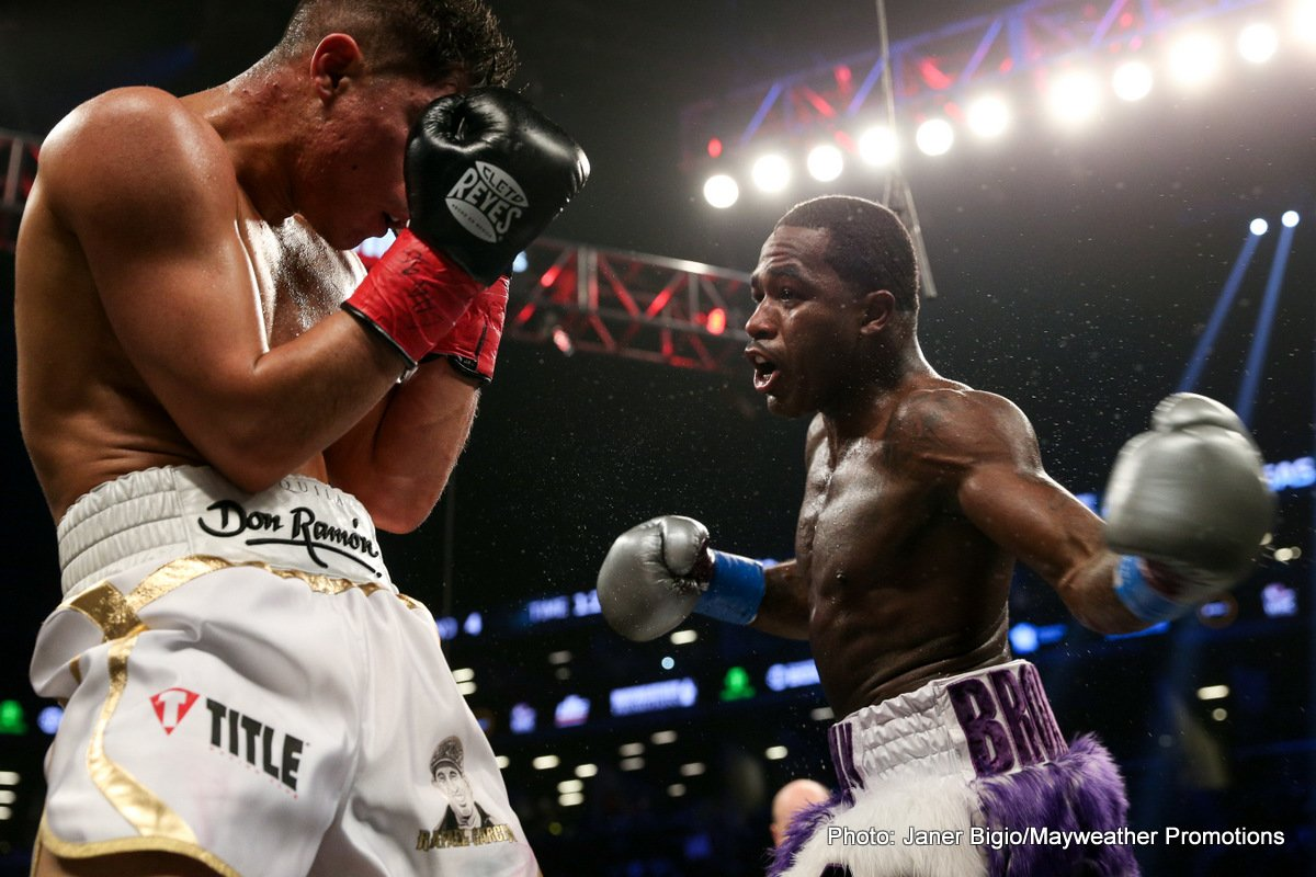 Adrien Broner Jessie Vargas Boxing News Boxing Results Top Stories Boxing