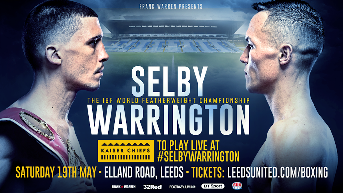 Kaiser Chiefs To Play Live At Lee Selby – Josh Warrington Fight