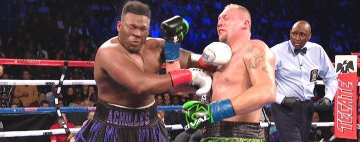 Jarrell Miller Johan Duhaupas Boxing News Boxing Results