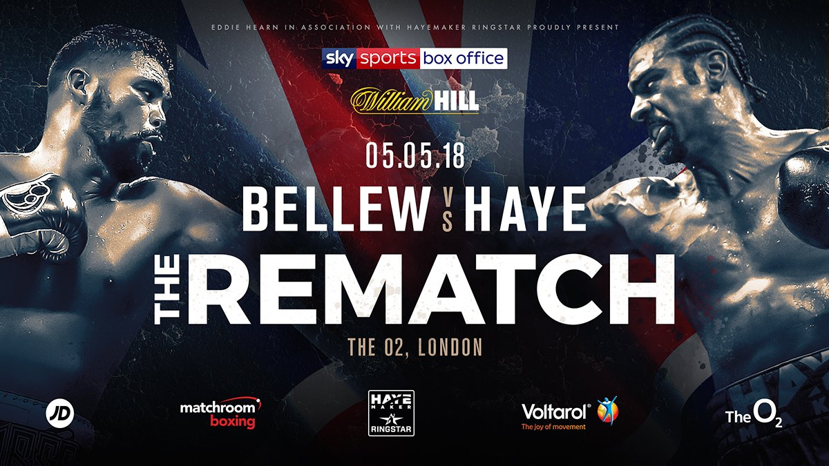 Tony Bellew / David Haye 2 Undercard (Update)