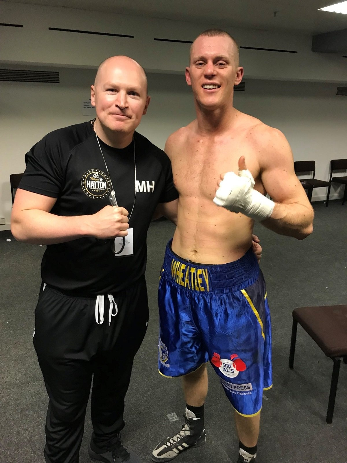 - Unbeaten middleweight prospect Nathan Wheatley (8-0) gets back to business just six weeks after his last fight