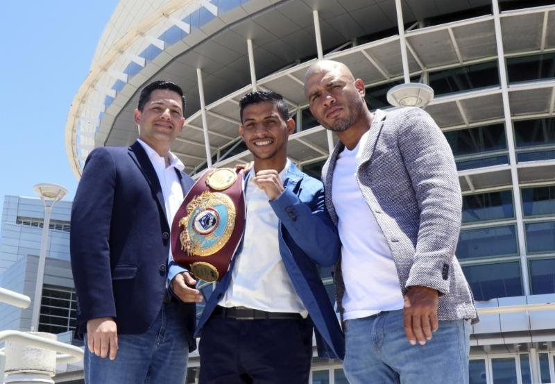 """- Miguel Cotto Promotions hosted a press conference earlier today to announce World Boxing Organization Light Flyweight World Champion Tito Acosta will make his first title defense at home on June 16 against Nicaraguan challenger Carlos """"Chocorroncito"""" Buitrago in the """"La Batalla"""" 12-round main event, airing on pay-per-view, live from the Coliseo de Puerto Rico Center in Hato Rey, Puerto Rico."""