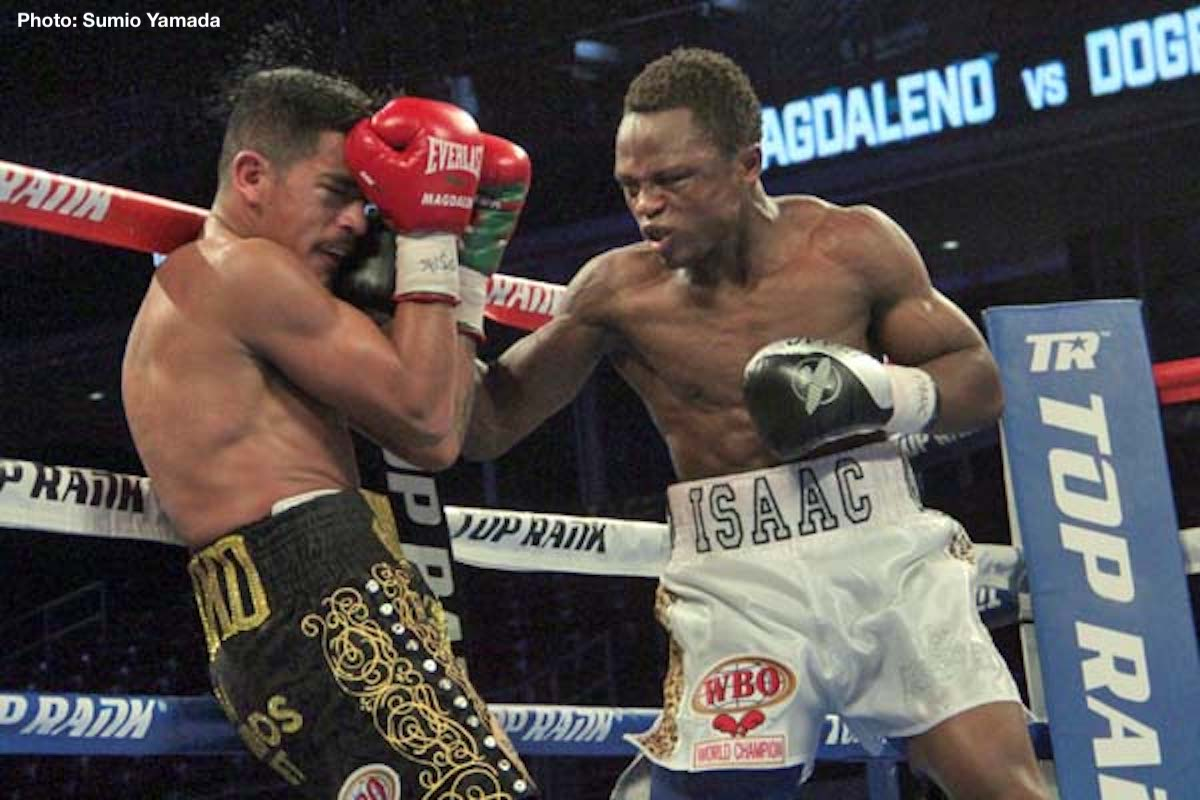 Isaac Dogboe Jessie Magdaleno Boxing News Boxing Results