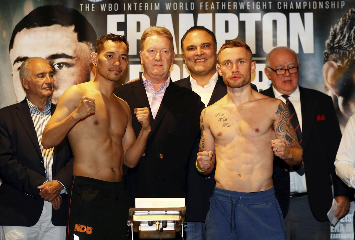 Carl Frampton Nonito Donaire Boxing News