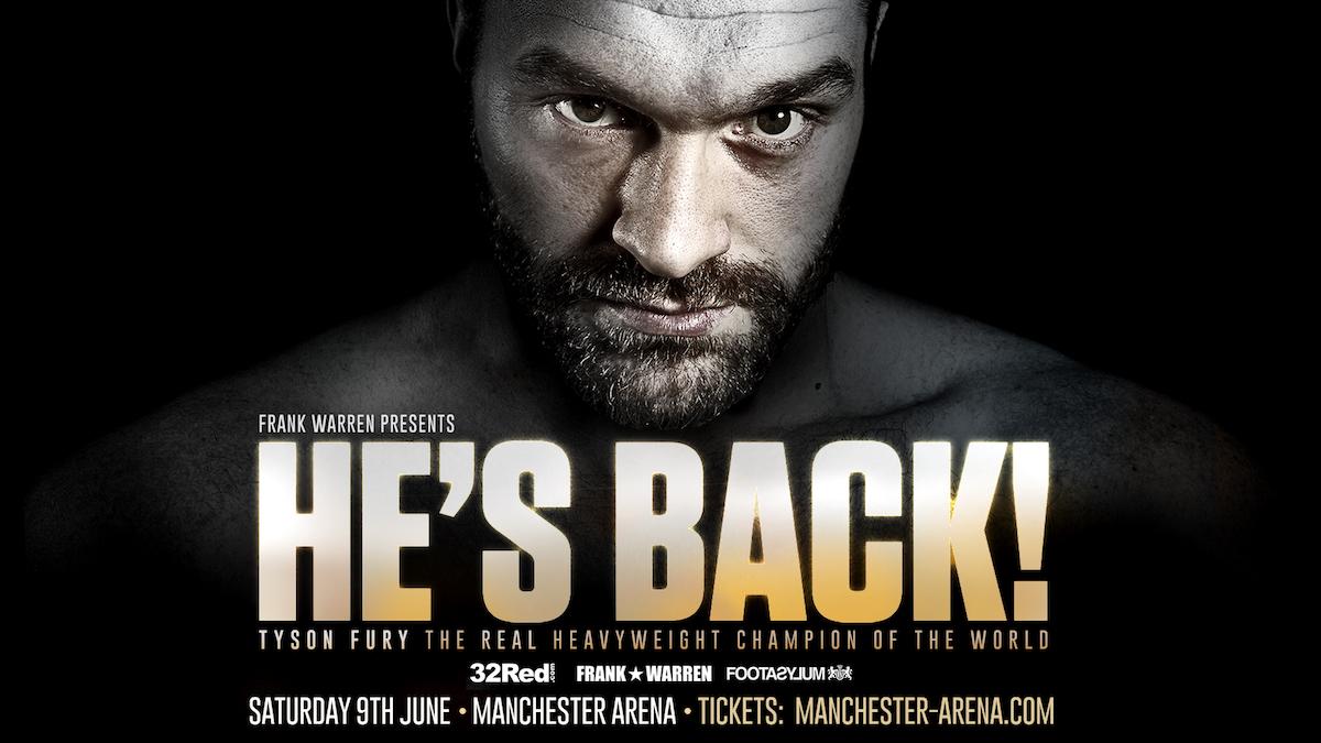 Anthony Joshua Tyson Fury Wladimir Klitschko Boxing News British Boxing
