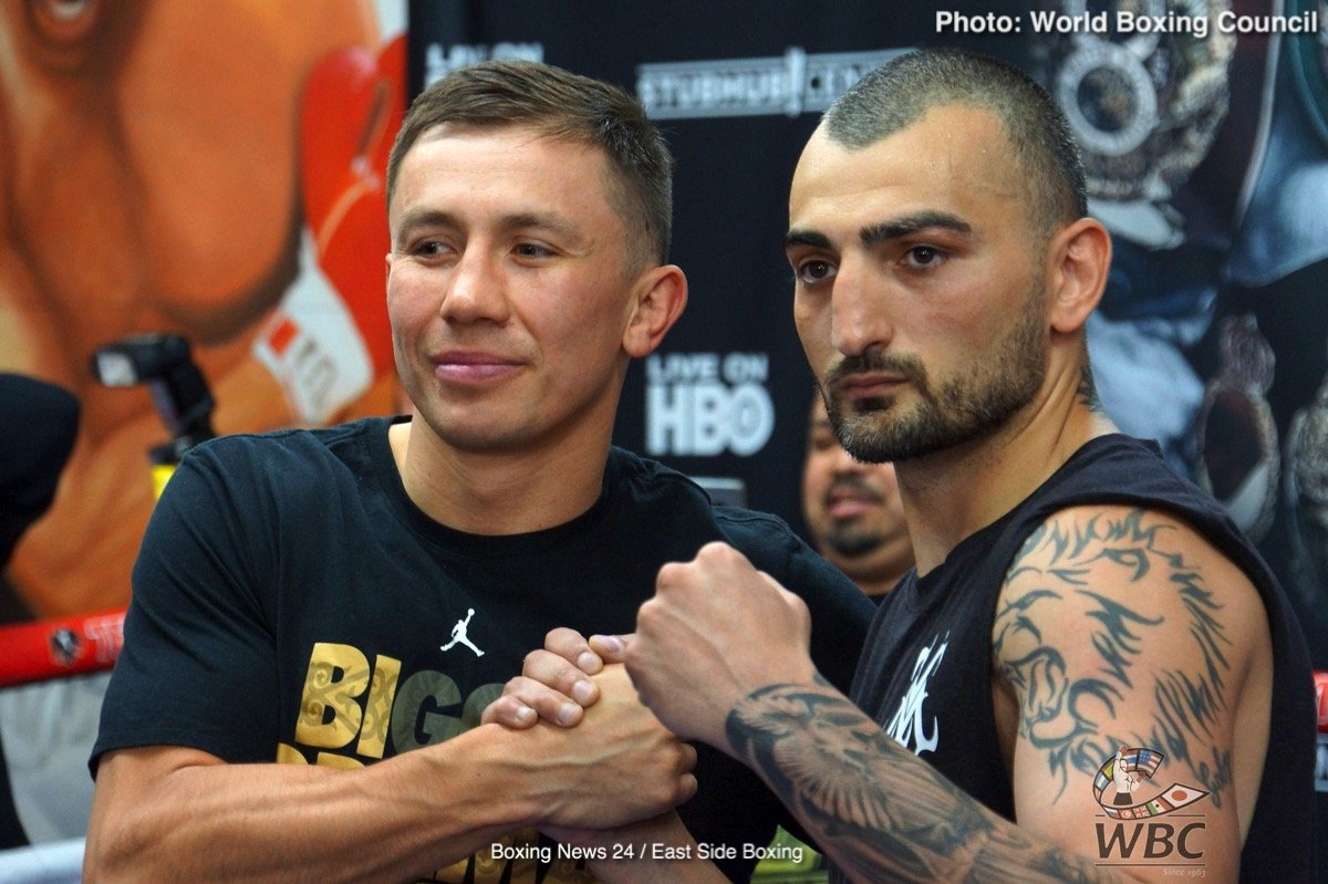 Gennady Golovkin Vanes Martirosyan Boxing Interviews Boxing News Top Stories Boxing