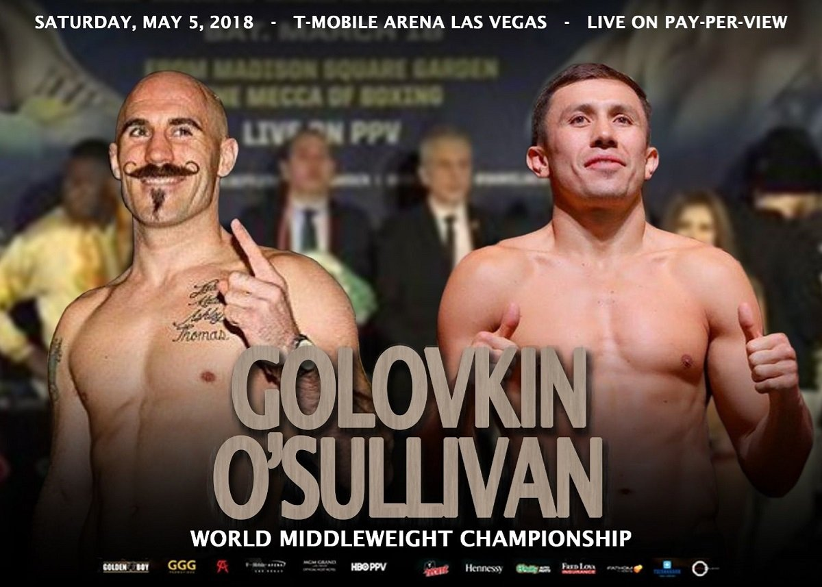"Can Gary ""Spike"" O'Sullivan give Gennady Golovkin a fight? The Irish warrior sure wants his chance"