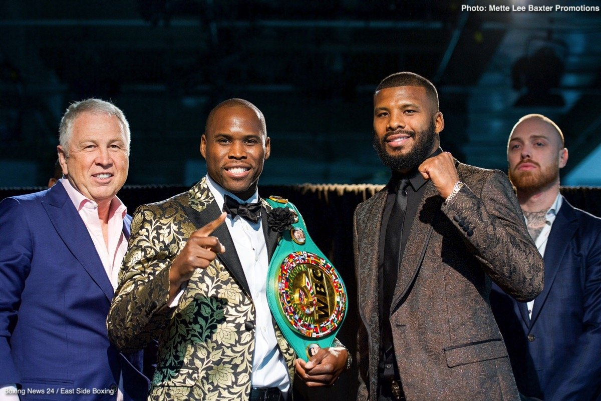Adonis Stevenson, Badou Jack - WHAT: WBC Light Heavyweight World Champion Adonis Stevenson and former two-division world champion Badou Jack faced off in Toronto on Tuesday to formally announce their highly anticipated showdown Saturday, May 19 live on SHOWTIME from Air Canada Centre in Toronto.