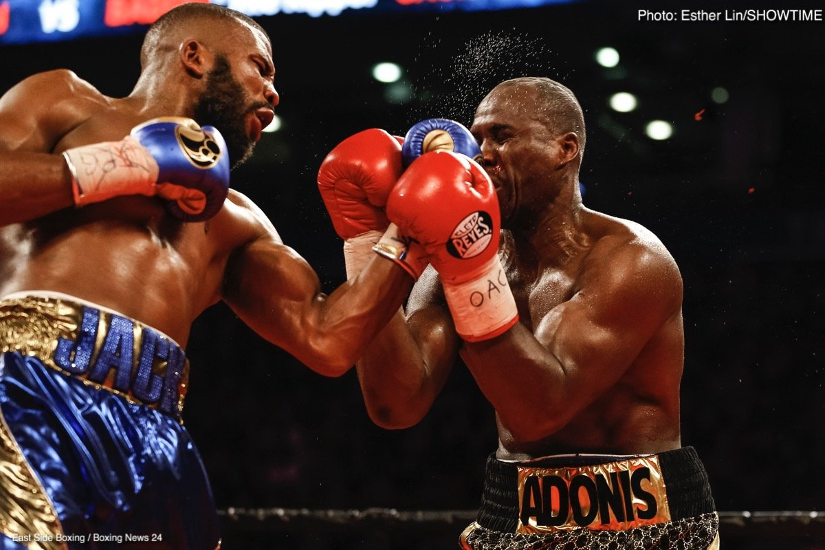 Adonis Stevenson And Badou Jack Fight To A 12 Round Draw