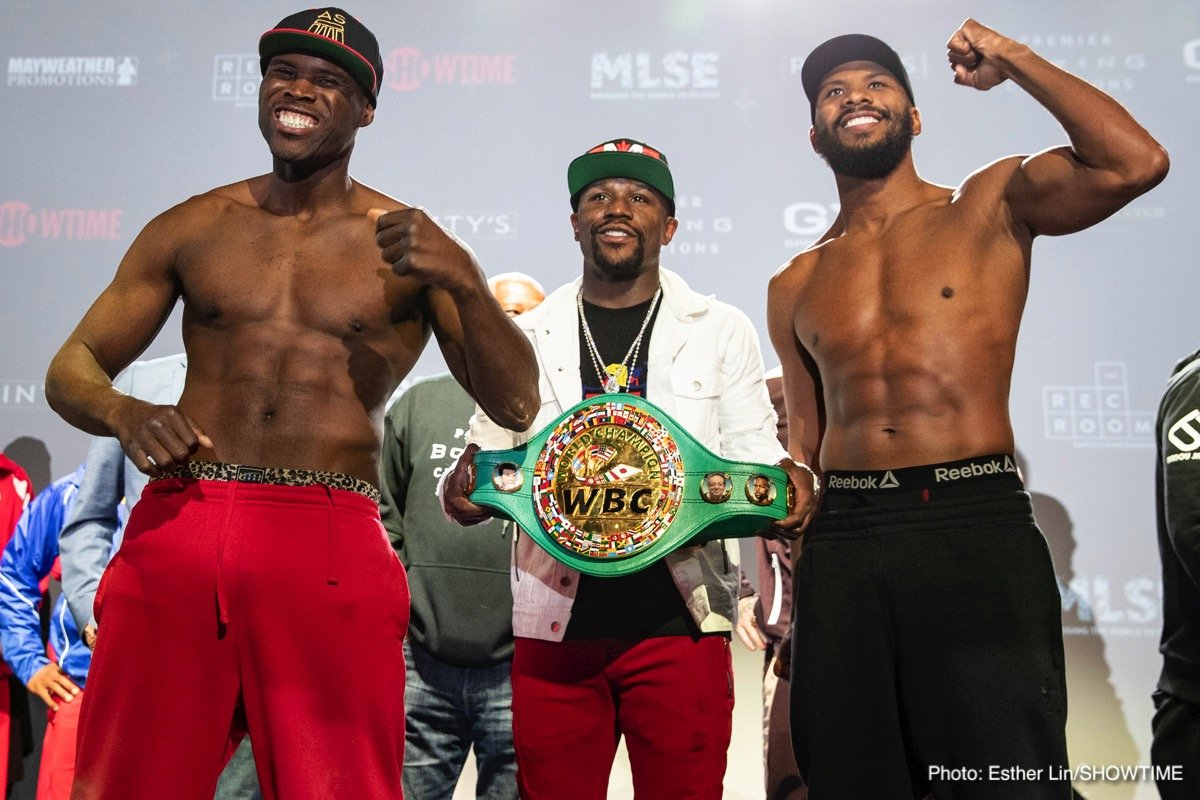 Adonis Stevenson Badou Jack Gary Russell Jr. Joseph Diaz Jr Boxing News Top Stories Boxing