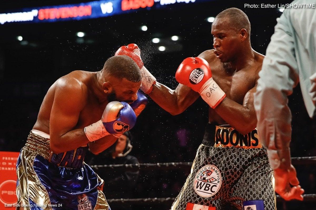Adonis Stevenson Boxing News