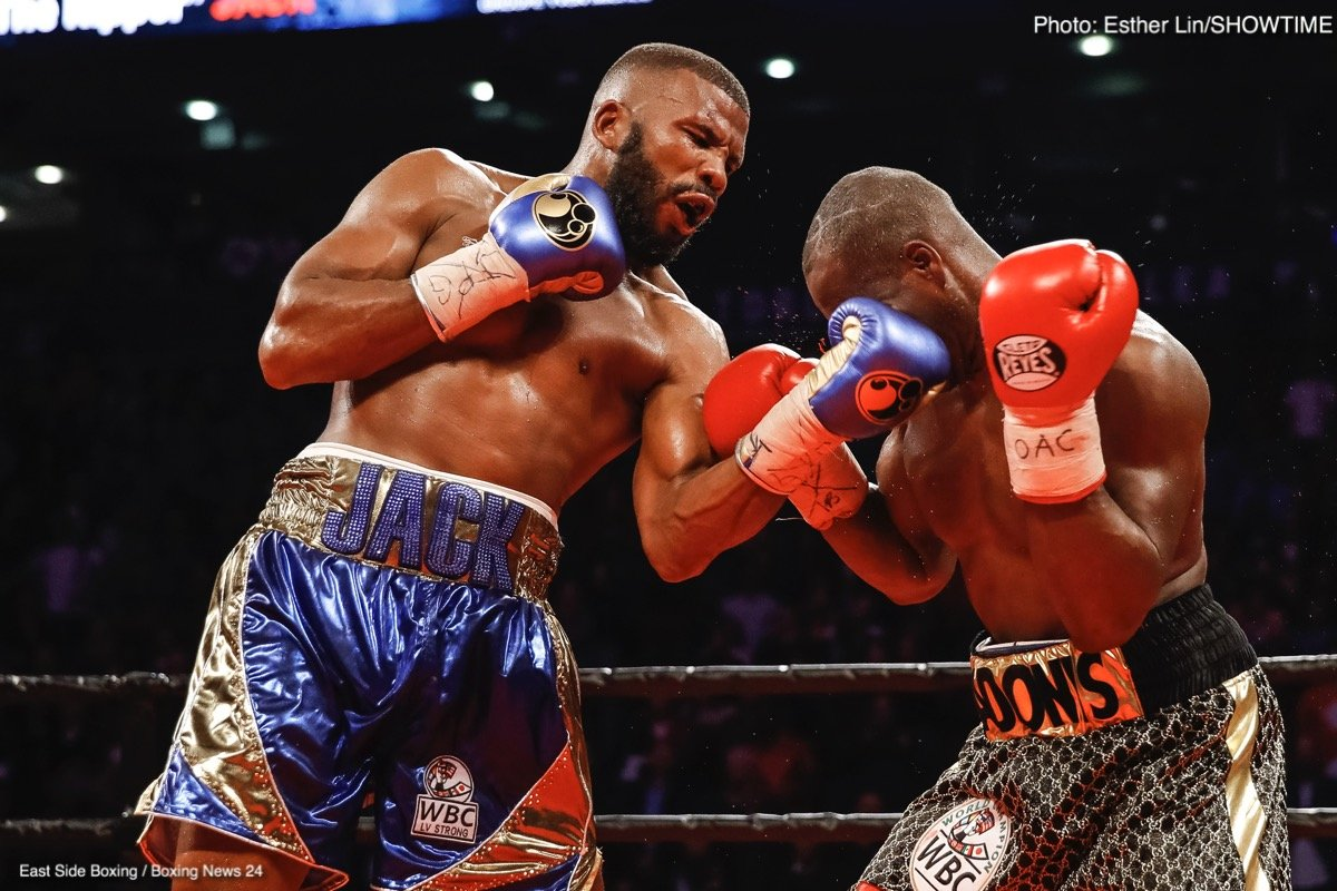 Badou Jack, Marcus Browne - Boxing Interviews