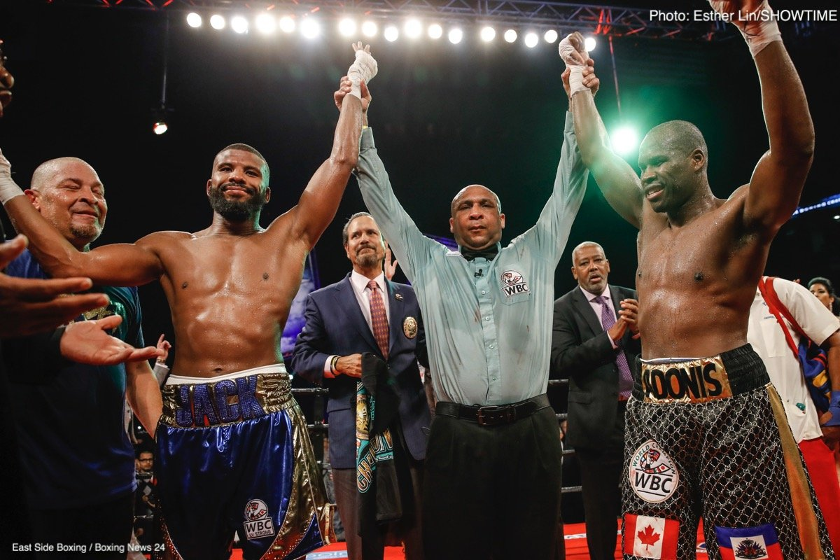 Adonis Stevenson - Badou Jack now has three draws on his pro record - yet to the fighter himself and to many fight fans all three draws should really be wins for the warrior from Sweden. Last night, In his terrific FOTY candidate with defending WBC light-heavyweight king Adonis Stevenson it happened again.
