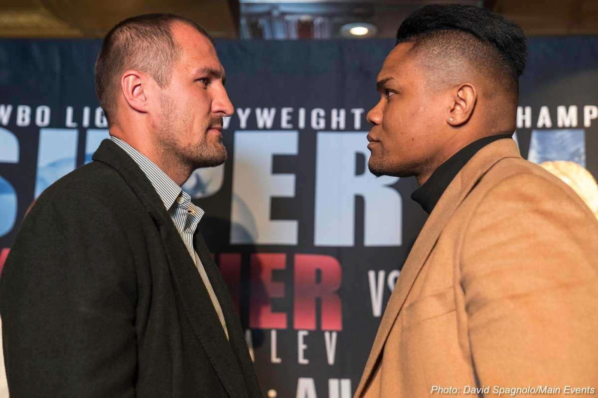 "Eleider ""Storm"" Alvarez Sergey Kovalev Boxing News Top Stories Boxing"
