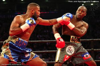 "Adonis Stevenson, Badou Jack - WBC Light Heavyweight world champion Adonis Stevenson and former two-division world champion Badou Jack fought to a highly competitive majority draw Saturday at Air Canada Centre in Toronto. At MGM National Harbor in Maryland, and in the opening bout on SHOWTIME, Gary Russell Jr. (29-1, 17 KOs) defeated Joseph ""JoJo"" Diaz Jr. (26-1, 14 KOs)."