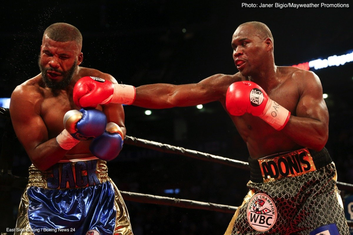 Adonis Stevenson - We saw lightweights Vasyl Lomachenko and Jorge Linares battle it out in a classic fight last week, and last night, up 40 pounds in weight, Adonis Stevenson and Badou Jack thrilled us with another Fight of The Year contender.