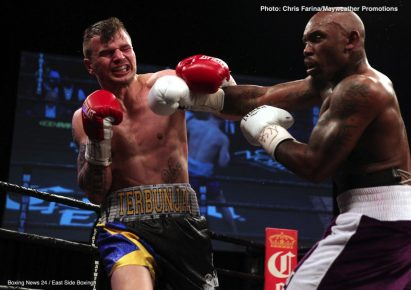 Ishe Smith Tony Harrison Boxing News Boxing Results