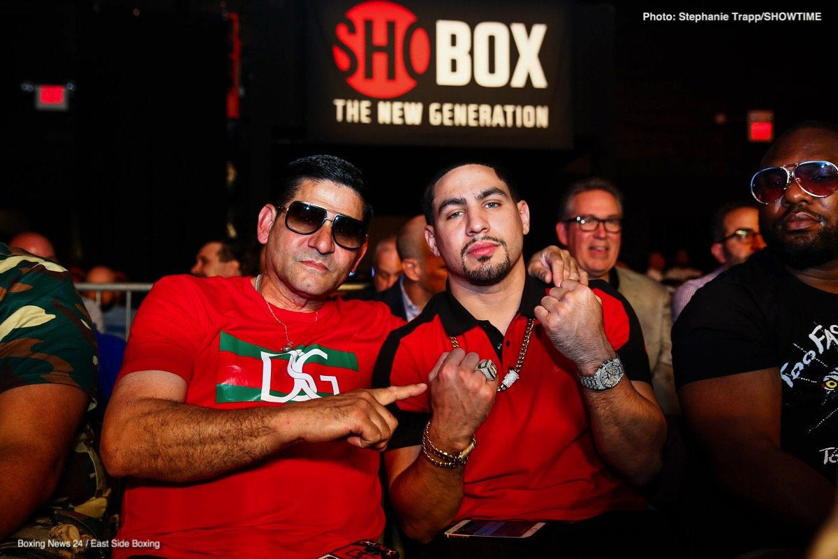 """Danny Garcia -  Two-division world champion Danny """"Swift'' García returns to the ring to take on hard-hitting slugger Ivan """"El Terrible'' Redkach in a 12-round WBC welterweight title eliminator Saturday, January 25 live on SHOWTIME from Barclays Center, the home of BROOKLYN BOXING™, in a Premier Boxing Champions event."""