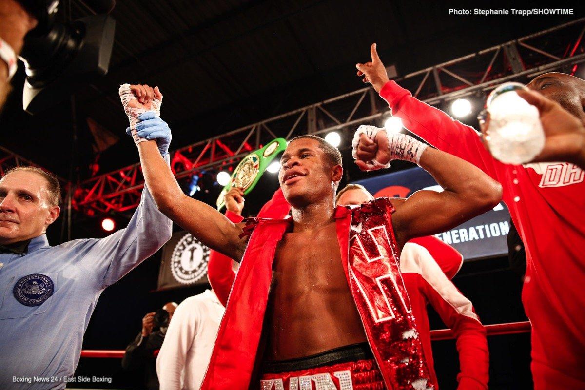 Devin Haney Juan Carlos Burgos Boxing News