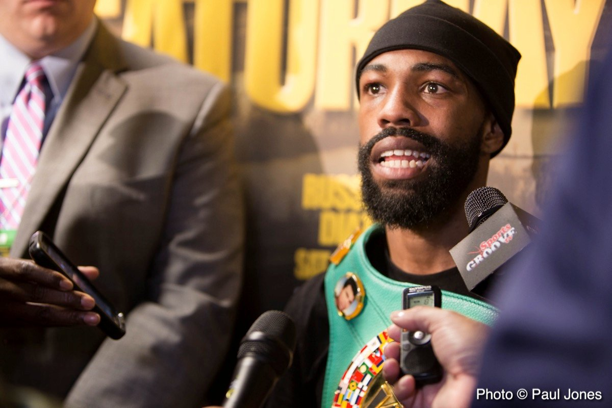 Dominic Breazeale - WBC Featherweight World Champion Gary Russell Jr. To Defend Against Former Champion Kiko Martinez In Co-Feature To Wilder vs. Breazeale Saturday, May 18 Live on SHOWTIME®