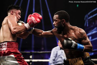 Gary Russell Jr. Joseph Diaz Jr Boxing News Boxing Results Top Stories Boxing