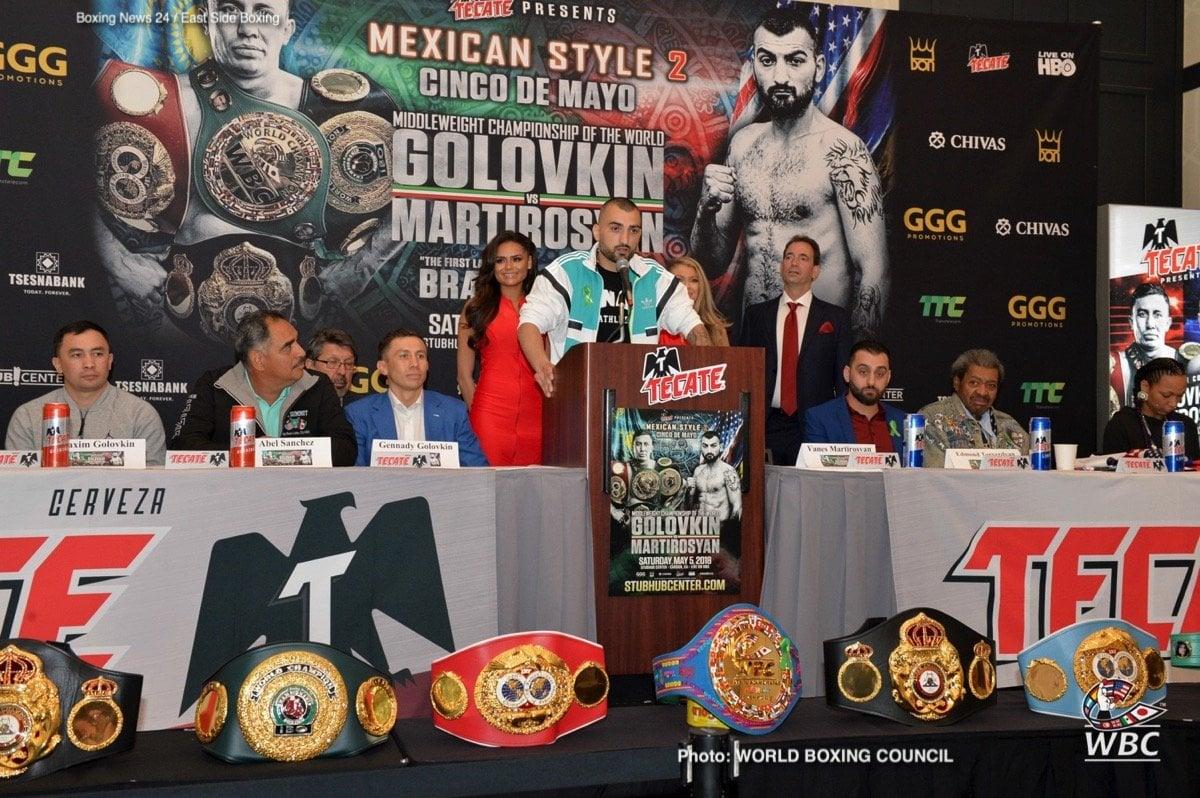 Cecilia Braekhus Gennady Golovkin Kali Reis Vanes Martirosyan Boxing News