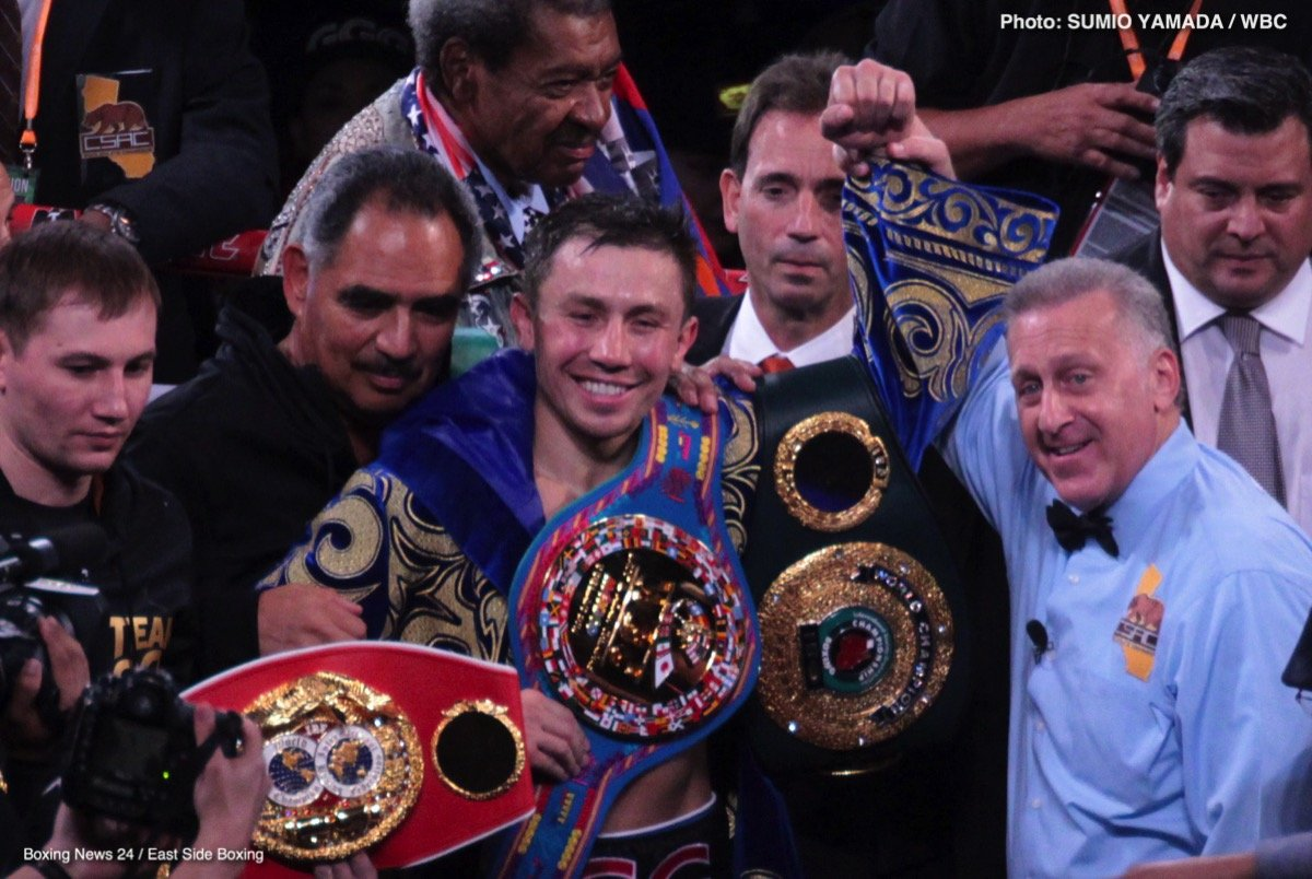 "He came, He saw, He conquered.  And he did it  Mexican Style!  Refusing to let boxing be held hostage on its biggest day, Cinco De Mayo, undefeated World Middleweight Champion GENNADY  ""GGG"" GOLOVKIN's Big Drama Show made a triumphant return to HBO."