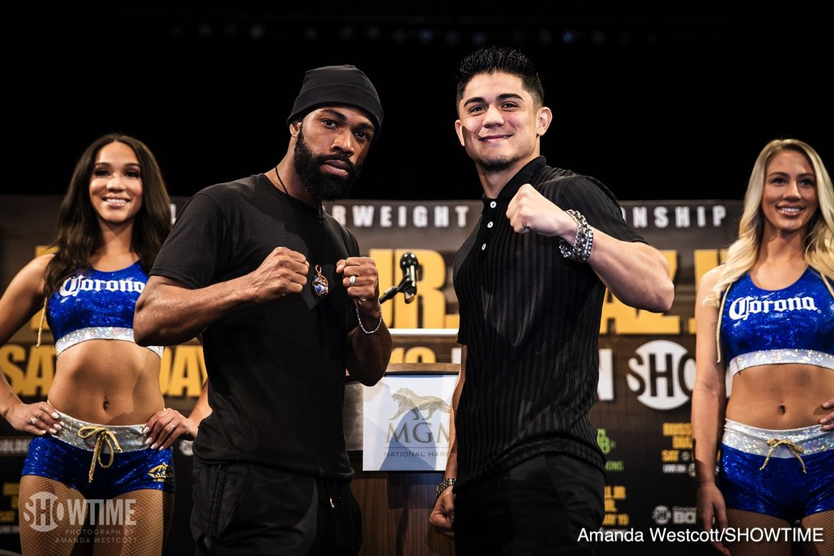 Gary Russell Jr. Joseph Diaz Jr Boxing News Top Stories Boxing