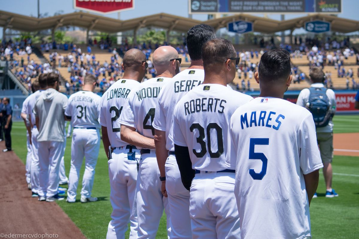 Abner Mares Hosts Community Event  & Throws Out First Pitch at Los Angeles Dodgers Game Sunday as Part of Busy Memorial Day Weekend