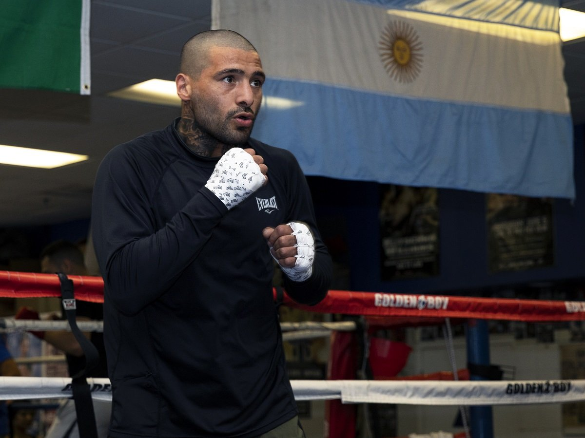 Lucas Matthysse training for Manny Pacquiao fight