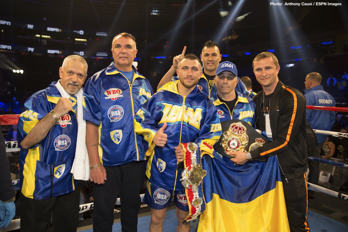 Vasyl Lomachenko Boxing News Top Stories Boxing