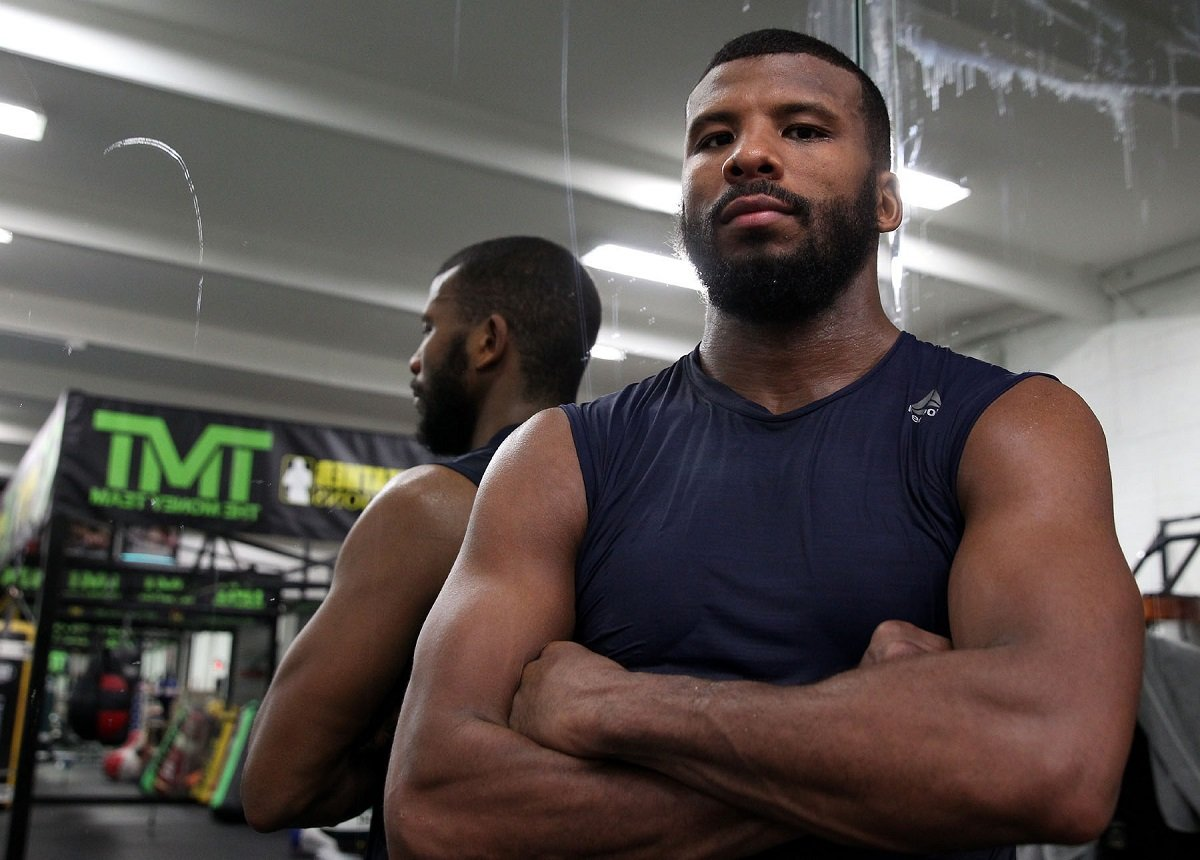 """Badou Jack - As two-division world champion Badou Jack """"The Ripper"""" arrives in Canada for fight week in Toronto, he shared his thoughts on training camp and his matchup this Saturday, May 19 against WBC Light Heavyweight World Champion Adonis Stevenson live on SHOWTIME from Air Canada Centre in an event presented by Premier Boxing Champions."""