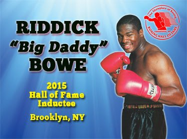 Riddick Bowe Press Room