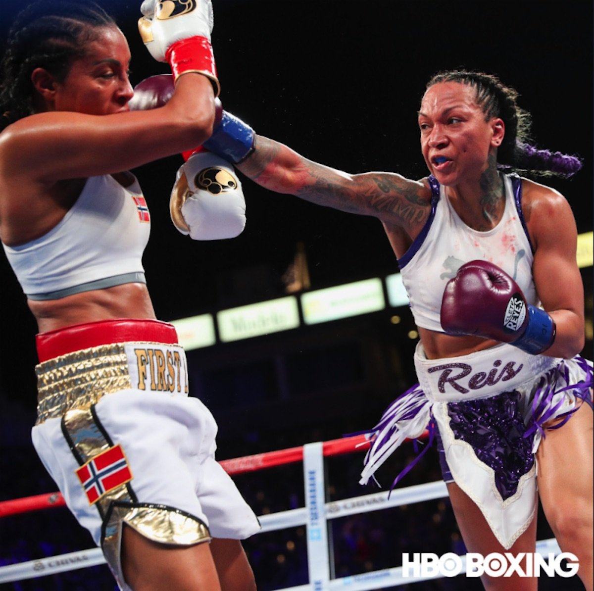 Cecilia Braekhus Kali Reis Boxing News Boxing Results