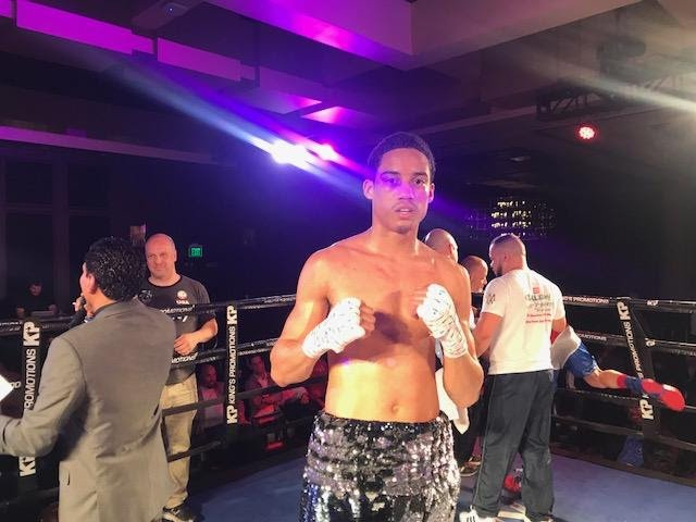 Mykal Fox - This past Friday night, junior welterweight Mykal Fox remained perfect by winning a eight-round unanimous decision over Anthony Mercado.
