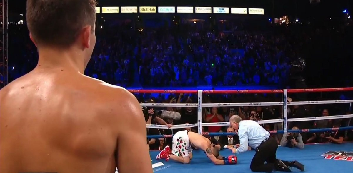 Middleweight king Gennady Golovkin has not had three fights in the same year since 2015 and until last night he had not scored a KO since 2016. Courtesy of his crushing, and hugely impressive two-round destruction of a game but outgunned Vanes Martirosyan, GGG aims to get his activity levels back up to speed the way he got his KO streak going again.