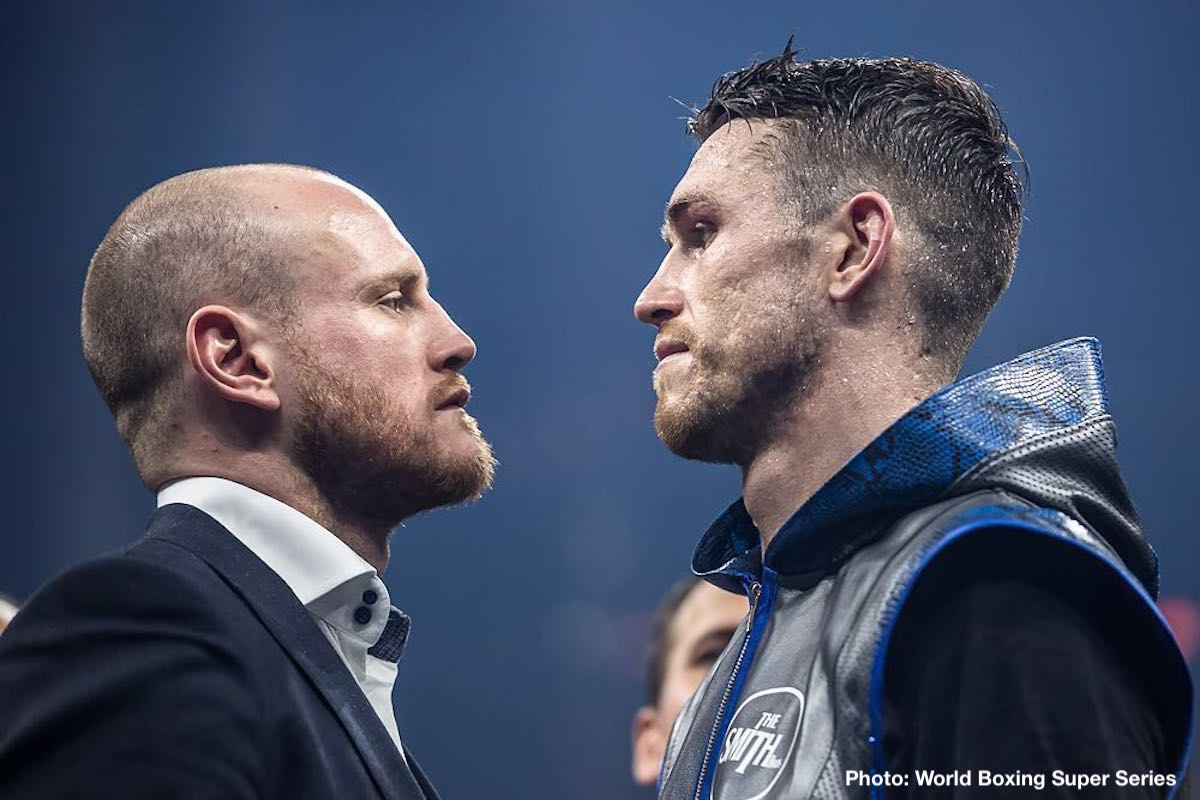 Callum Smith George Groves Boxing News Top Stories Boxing