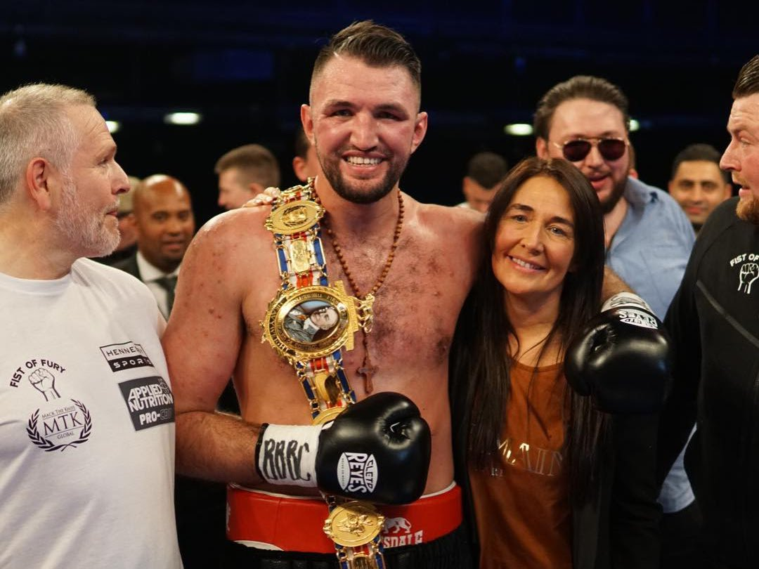 Hughie Fury - Hennessy Sports is thrilled to announce that Hughie Fury's stunning fifth round stoppage of Sam Sexton to become British Heavyweight Champion last Saturday night at the Macron Stadium, Premier Suite, in Bolton was a TV ratings hit that reached a total of 2.9m viewers across the night on Channel 5 and 5Spike in the UK.