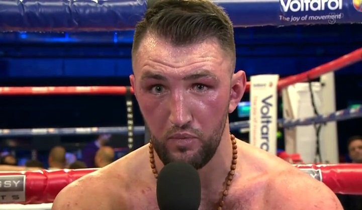 Hughie Fury Boxing News British Boxing