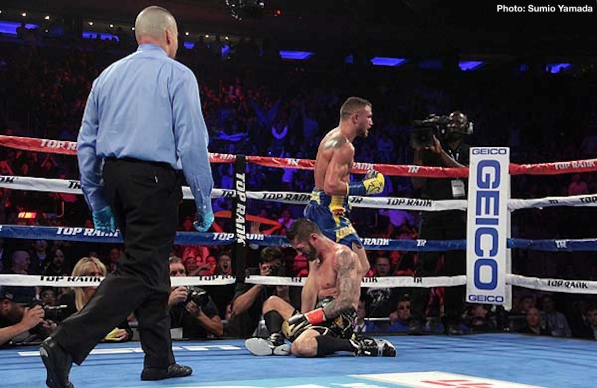 Jorge Linares Vasyl Lomachenko Boxing News Boxing Results Top Stories Boxing