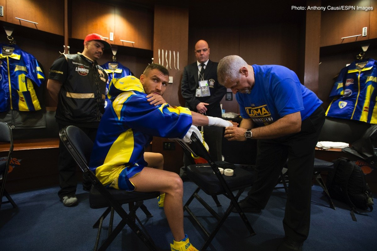 Vasyl Lomachenko will not go above 135, Pacquiao must come down if he wants the fight