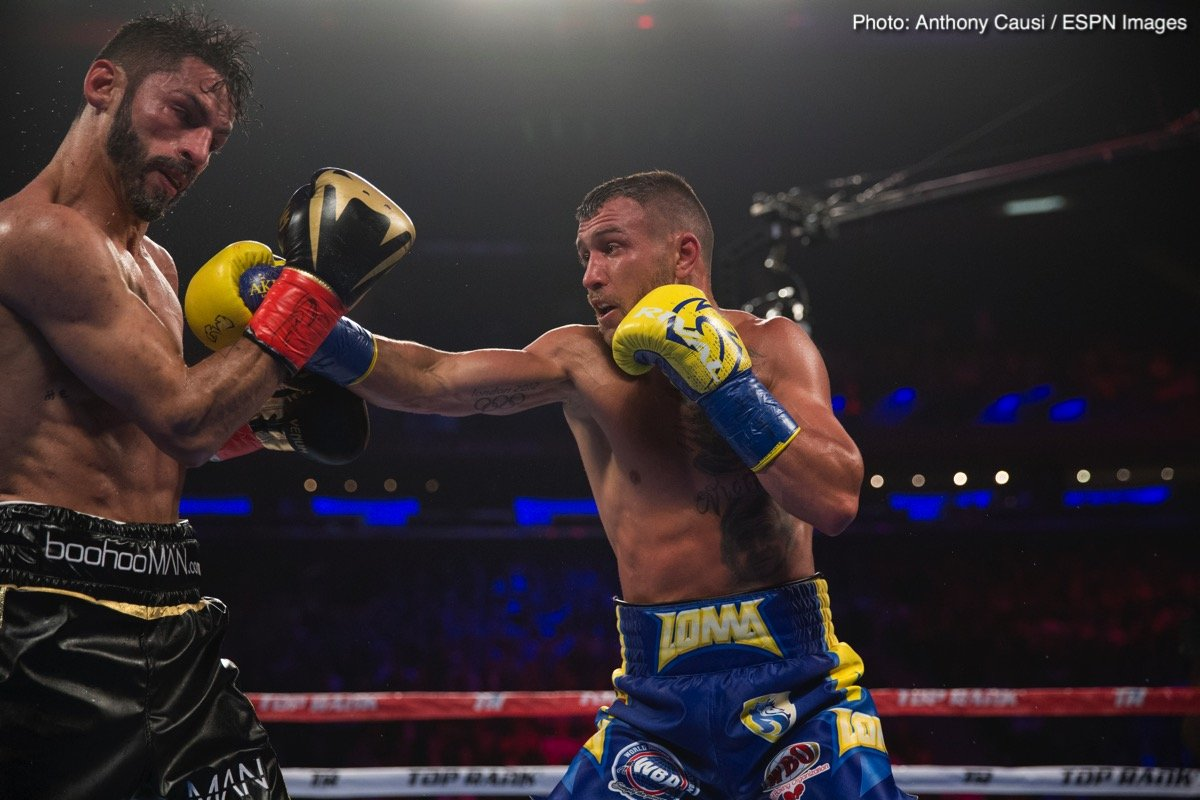 Lomachenko to make quick return, will fight August 25 – likely against Raymundo Beltran