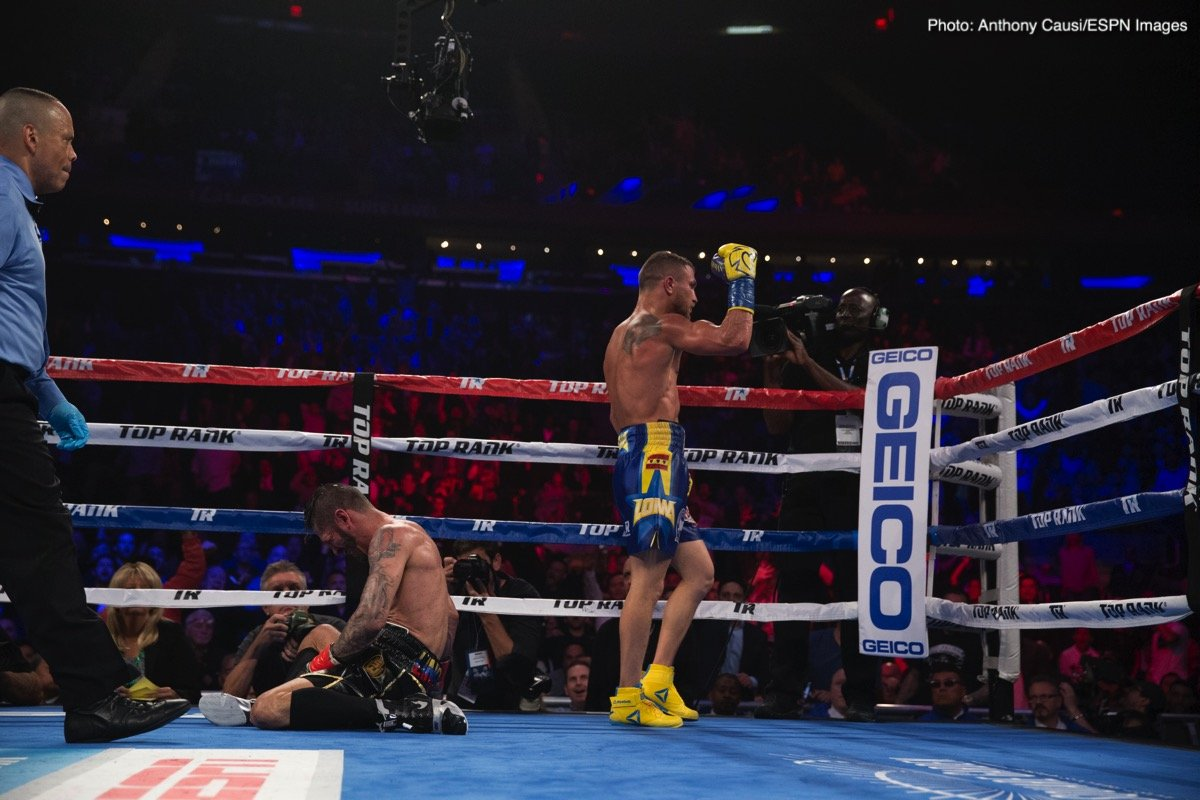 Jorge Linares Vasyl Lomachenko Boxing News Top Stories Boxing