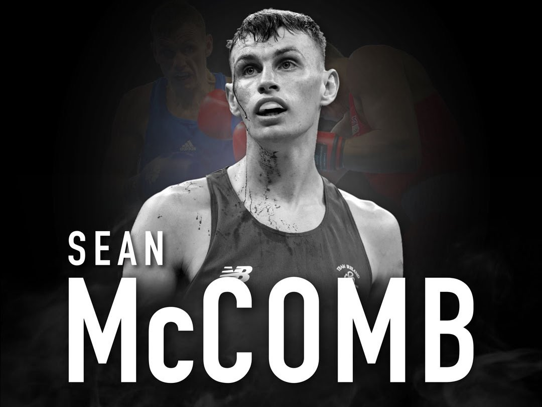 Sean McComb British Boxing Press Room