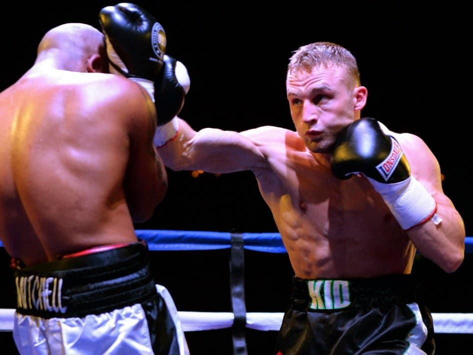 JJ Metcalf Jorge Fortea British Boxing Press Room