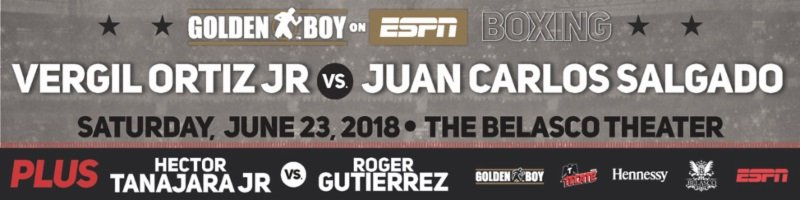 Vergil Ortiz Jr. and Oscar Negrete quotes for 6/23