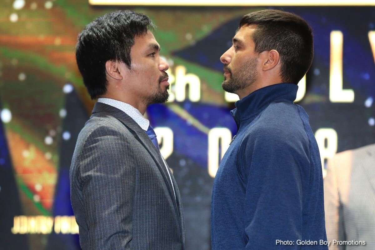 Lucas Matthyssee Manny Pacquiao Boxing News Top Stories Boxing