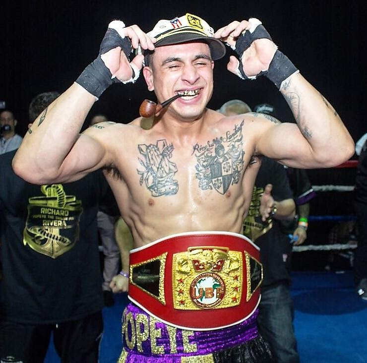 "Richard ""Popeye The Sailor Man"" Rivera - New England's hottest, most popular and hardest hitter, Richard ""Popeye The Sailor Man"" Rivera, will defend his Universal Boxing Federation (UBF) All America light heavyweight title at home on Hartford Boxing Promotions' inaugural event, ""Fight Night at the Capital"", June 16th at Xfinity Centre in Hartford, Connecticut."